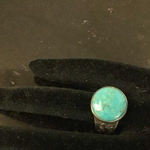 Desert Rose Trading Co 925 Turquoise Ring